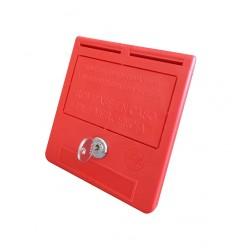 Cassetta di emergenza chiave cilindro (testo in spagnolo)