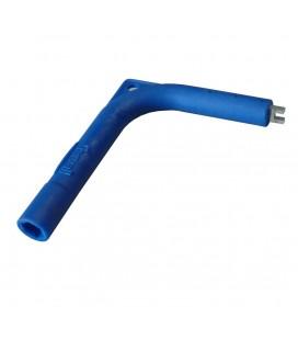 Chiave esagonale blu