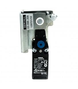Sistema apertura serratura con contatto manuale porta destra