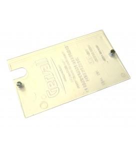 Tapa de policarbonato transparente