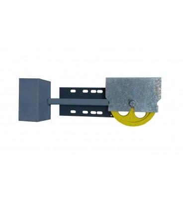 Puleggia di tensione Ø200 installazione superiore