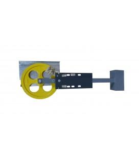 Puleggia di tensione Ø300 installazione superiore