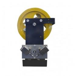 Limitatori di velocità con riarmo del contatto elettrico a distanza base corta 600