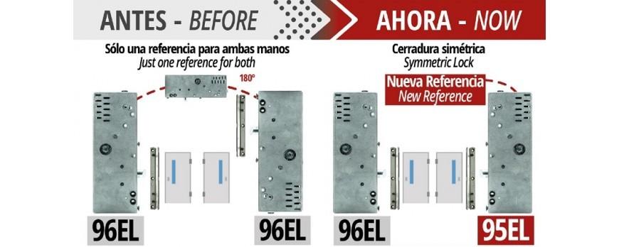 La serratura di sicurezza elettrica modello 96EL, ora ha mano