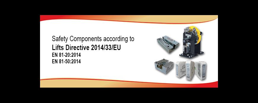 Componenti di sicurezza secondo la direttiva 95/16/CE